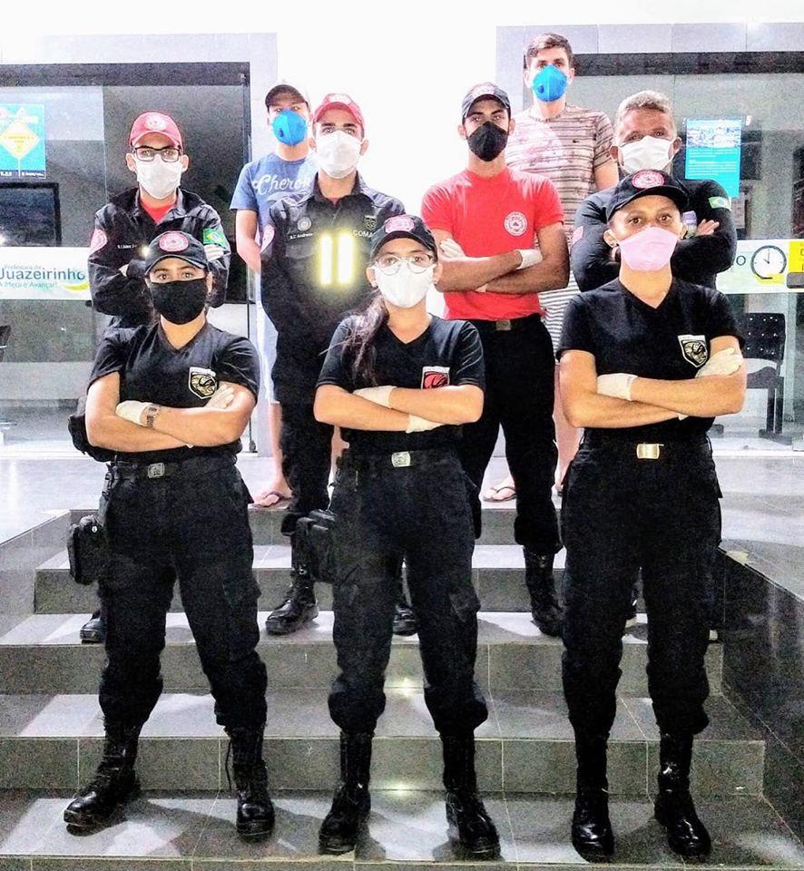 Prefeitura de Juazeirinho contrata Bombeiros Civis para auxiliar no combate ao COVID-19