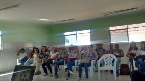 SECRETÁRIA DE SAÚDE APRESENTA NOVA COORDENADORA DA ATENÇÃO BÁSICA