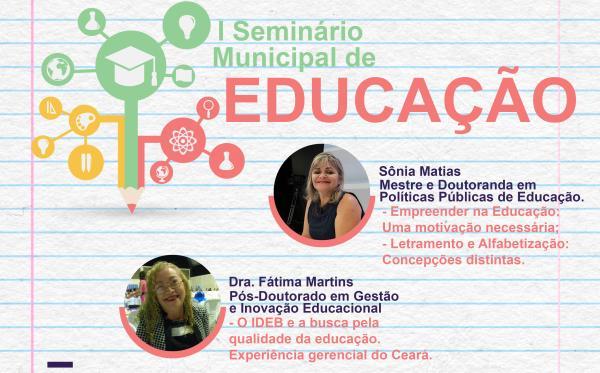 1º SEMINÁRIO MUNICIPAL DE EDUCAÇÃO