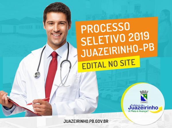 PROCESSO SELETIVO Nº 001/2019