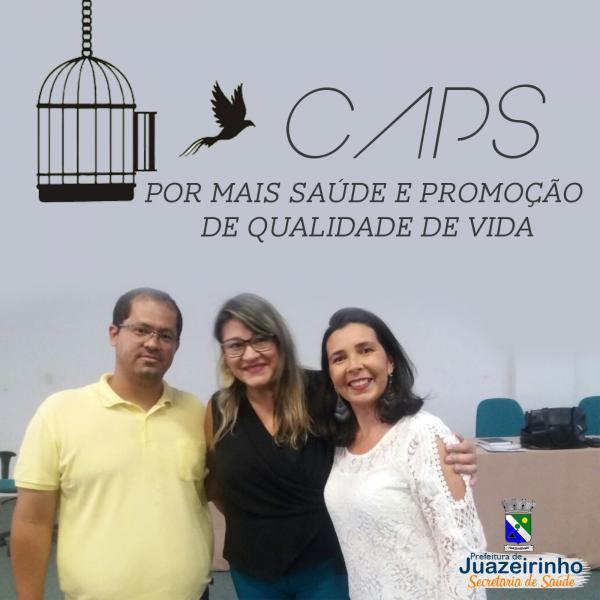 COORDENADORA DO CAPS DE JUAZEIRINHO PARTICIPA DA VI REUNIÃO DO...