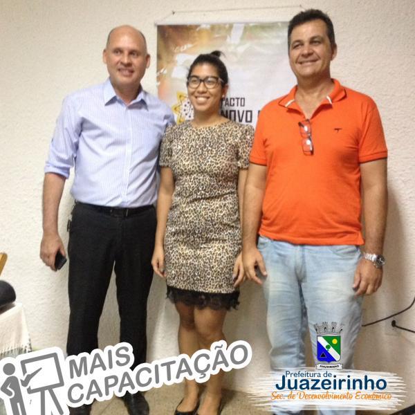 SEBRAE MINISTRA CAPACITAÇÃO PARA AGENTES DE DESENVOLVIMENTO ECONÔMICO NA PARAÍBA.