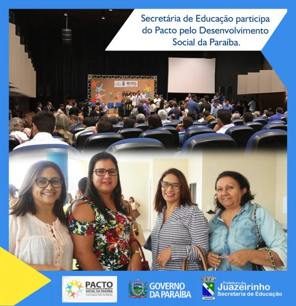 Secretária de Educação participa do 1º encontro do Pacto pelo...