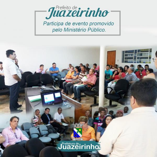 Prefeito Bevilacqua Matias e catadores de materiais recicláveis participa de evento promovido pelo Ministério Público, SESCOOP/PB.