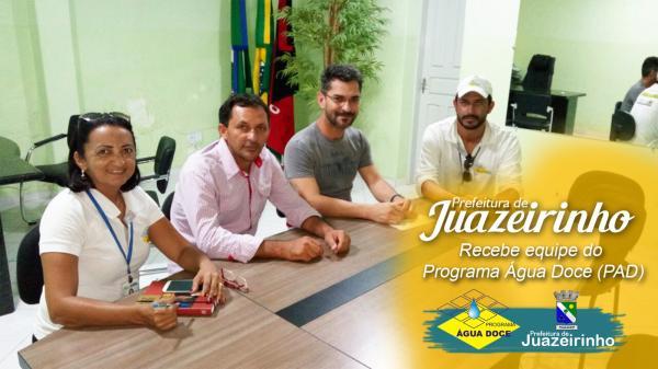 Secretário de Infraestrutura do município de Juazeirinho recebe equipe do...