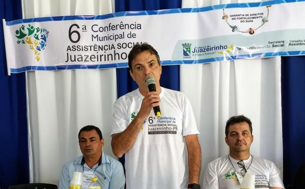 MUNICÍPIO DE JUAZEIRINHO REALIZA A VI CONFERÊNCIA DE ASSISTÊNCIA SOCIAL.